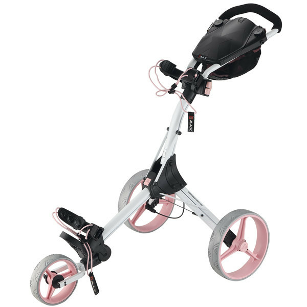 Big Max IQ+ Golftrolley / Caddywagen White/Pink