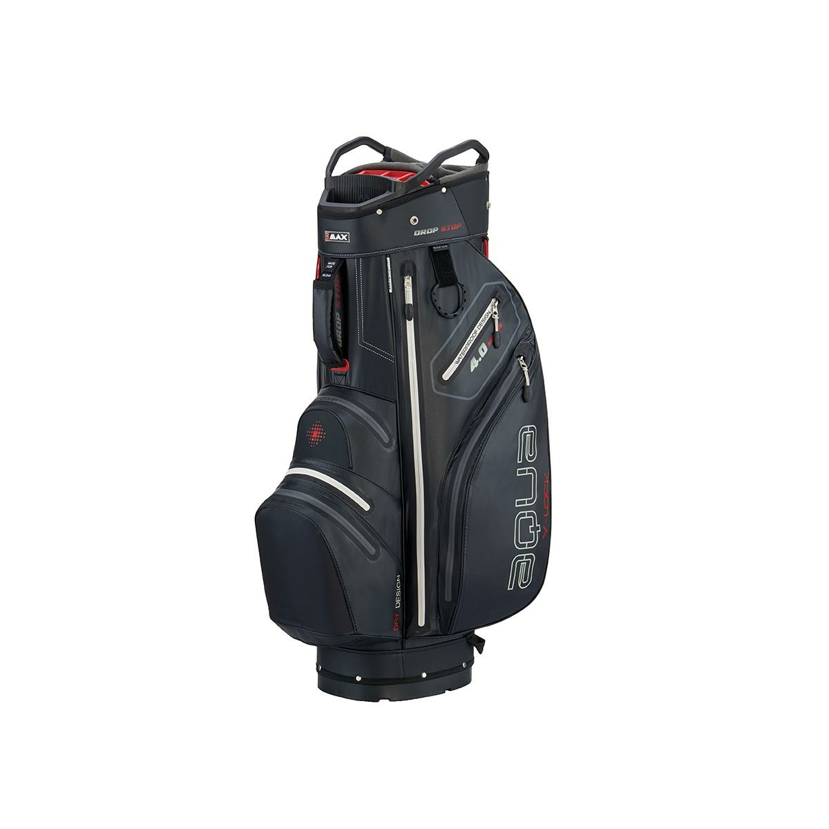 Big Max Golf Cartbag Aqua V-1 Sport Organizer Top 2019 Black