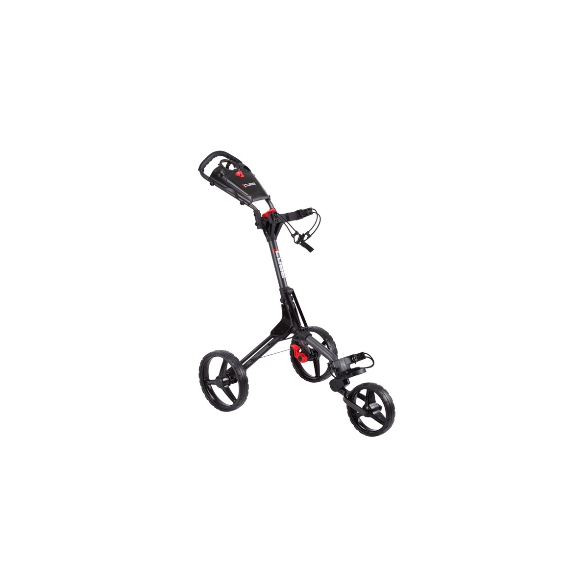 CUBE Carts Golf Trolley 3 Rad Push Leicht - Kompakt - Komfortabel Farbe: Black/Black by Cube