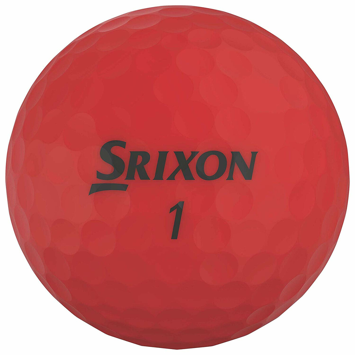 Srixon Soft Feel Brite Golfball 2-Pieces Rot