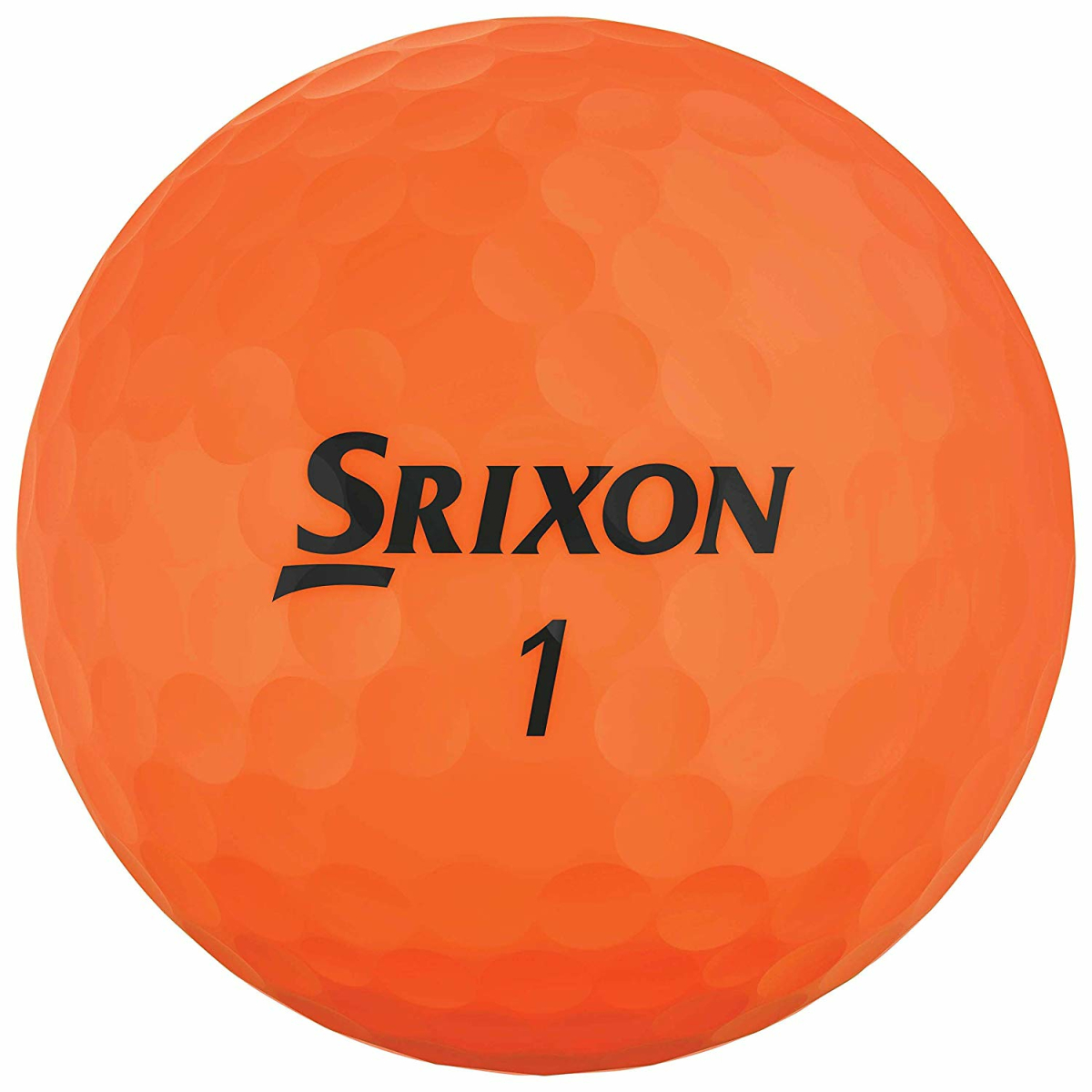 Srixon Soft Feel Brite Golfball 2-Pieces Orange