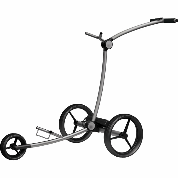 BIG MAX GOLF ELEKTRO-TROLLEY EQ - TITANGRAU