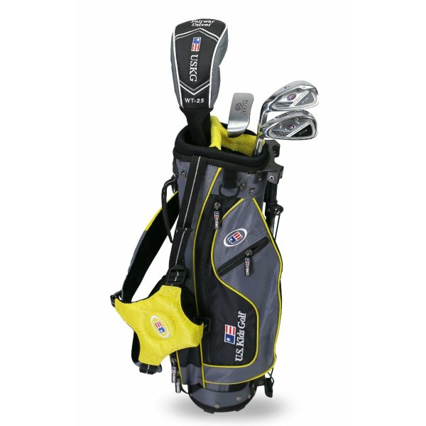 US Kids 2017 Golf Ultra Light, 4 Club Stand Golf Set mit...