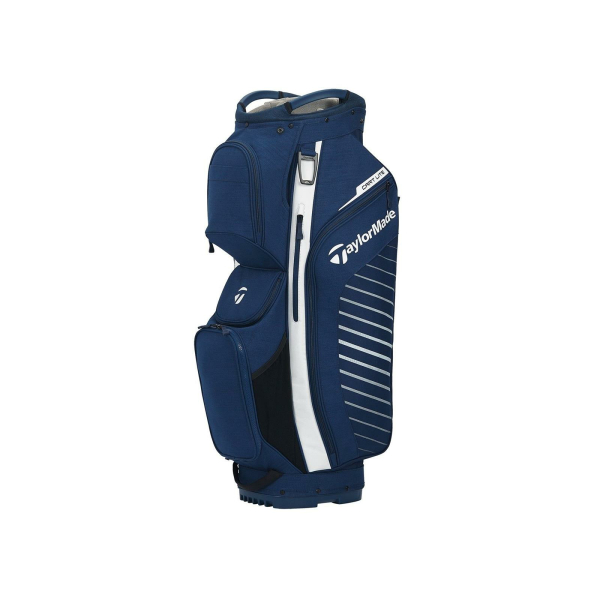TaylorMade Cart Lite Cartbag Navy/Weiss