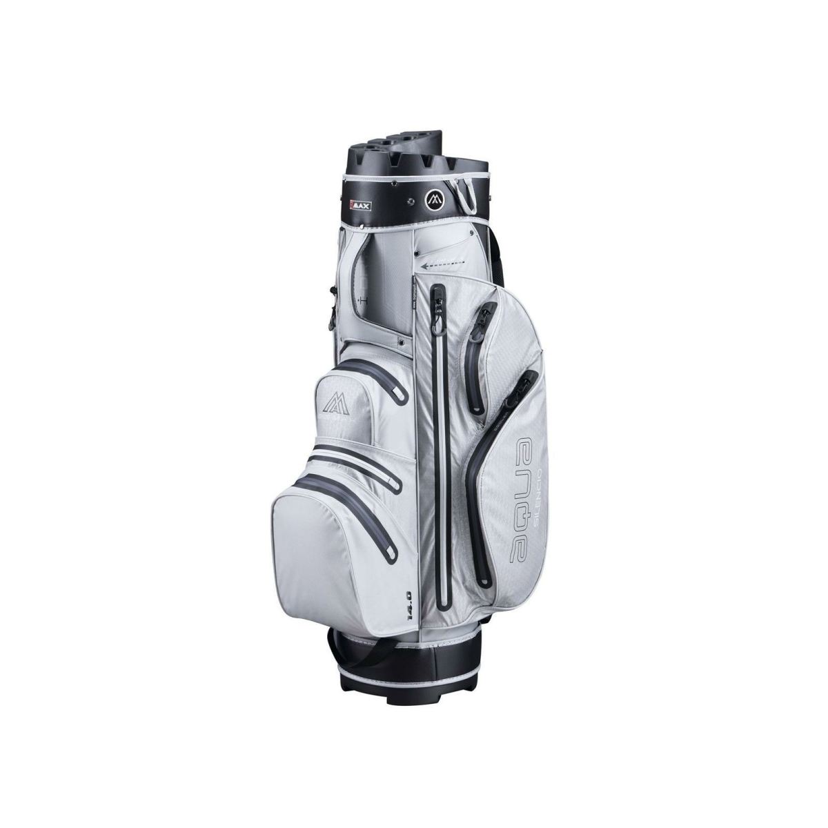 BIG MAX Cartbag Aqua Silencio 3 gray-black
