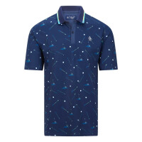Penguin Golf Halbarm Polo Herren
