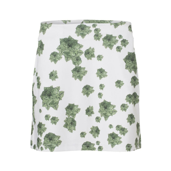 Cross Skort Golf Damen Rock Flower Green/White