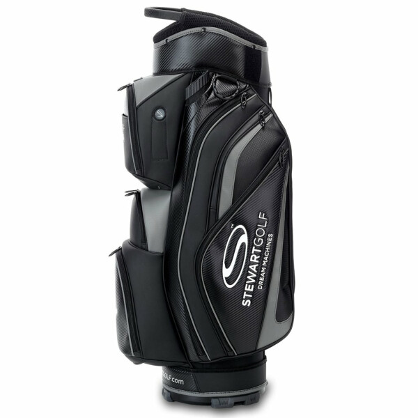 Stewart Golf Pro Staff Cartbag Black/Grey