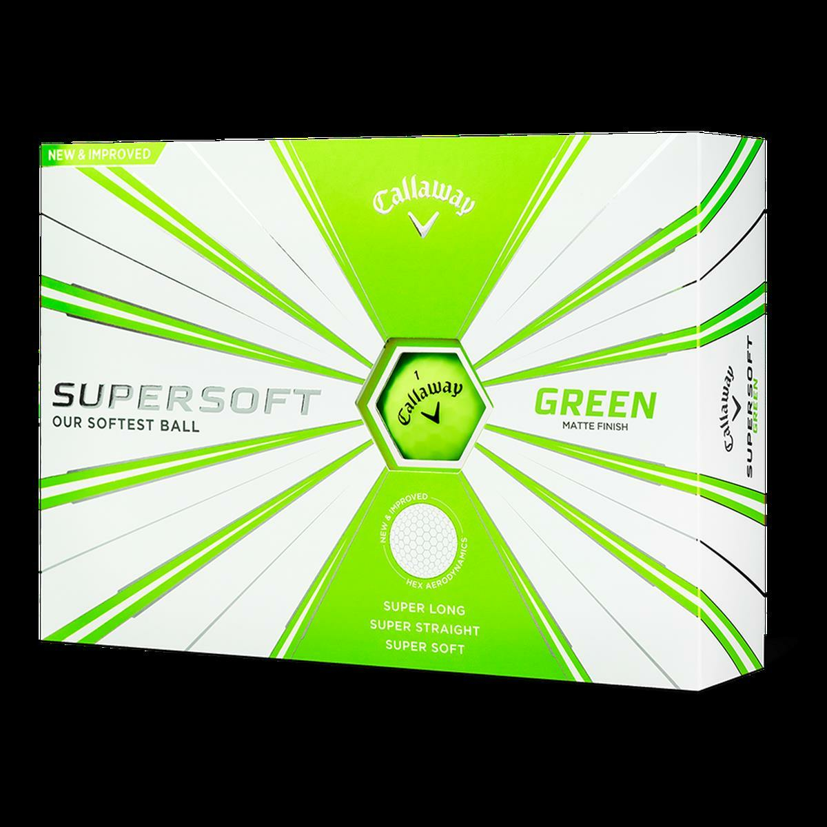 Callaway Golf 2019 Supersoft Golfbälle, Herren, Supersoft 19 Golf Ball