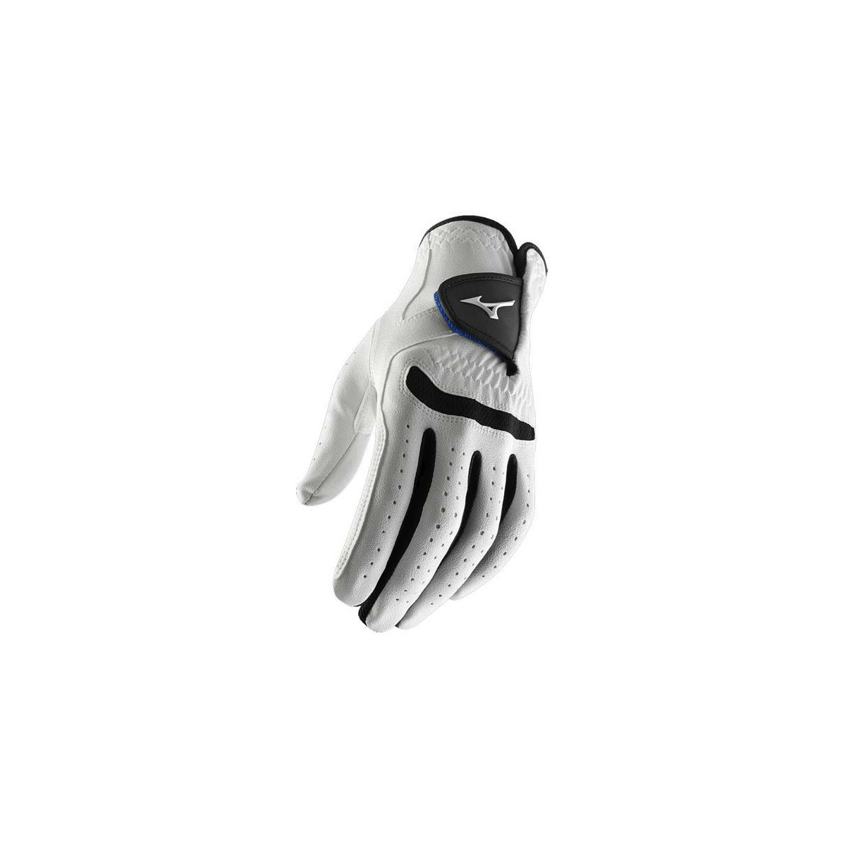 **Pack of 1** Mizuno 2015 All Weather Comp Mens Golf Gloves Left Hand (Right Handed Golfer) White/Black ML