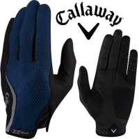 2015 Callaway X-Spann All-Weather Performance Mens Compression Fit Golf Gloves-PAIR Black XL