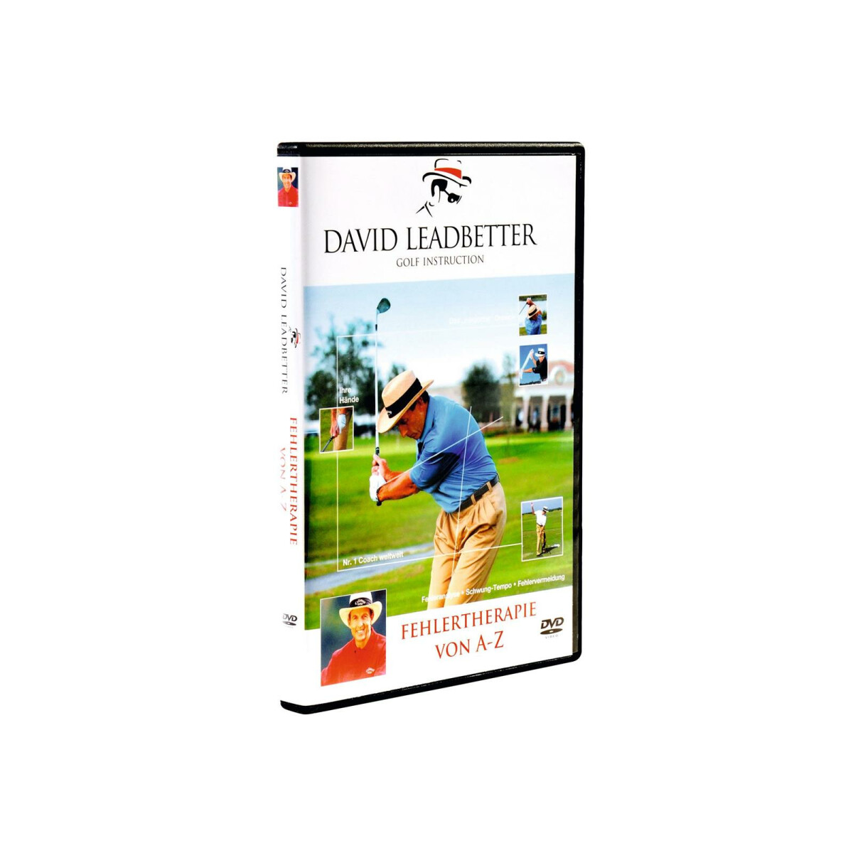 DVD David Leadbetter - Fehlertherapie von A - Z